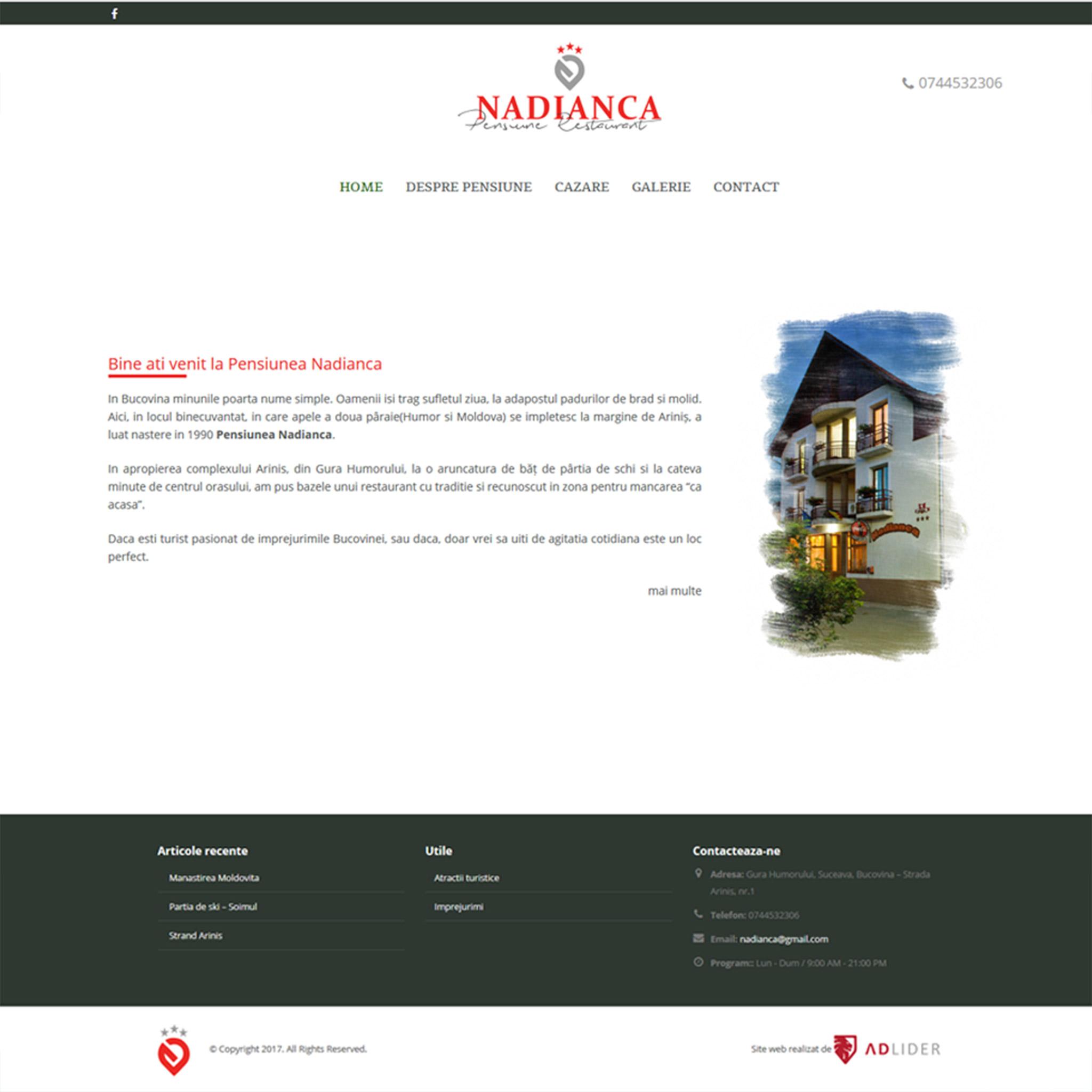 creare-site-web-pensiune